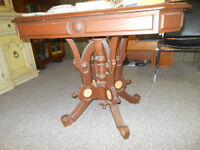 REDUCED! Victorian Card Table
