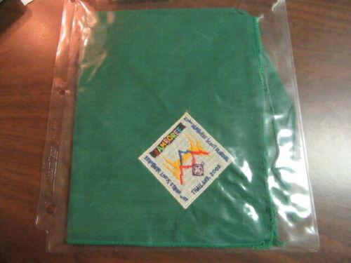 2003 World Jamboree Green Scout Neckerchief     YU5