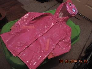 "Girl's Size 4T ""Cat"" Raincoat"