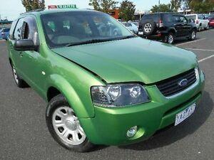 2004 Ford Territory SX TX (RWD) Green 4 Speed Auto Seq Sportshift Wagon Maidstone Maribyrnong Area Preview
