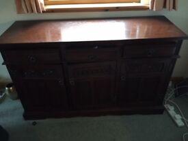 Old Charm - Solid Oak Sideboard