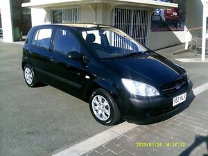 2007 Hyundai Getz TB Upgrade SX Black 4 Speed Automatic Hatchback Coopers Plains Brisbane South West Preview