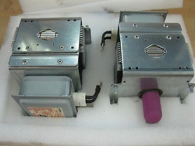 Lot Of 2 Nordson 1075164 Uv Lamp Curing Rf Microwave Magnetron