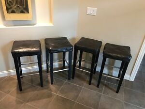 4 Stools (counter-height)