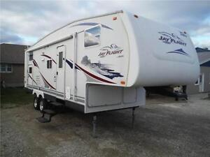 2007 Jayco Jay Flight 27.5BHS Ultra Lite 5th Wheel with Bunkbeds Stratford Kitchener Area image 1