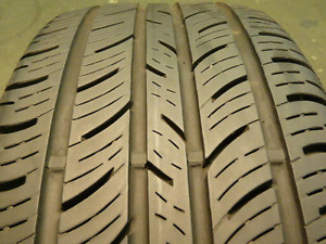 235/55R17 Continental Tires   four tires