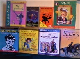 MORE ROALD DAHL, WITCHES, WIZARDS & MAGICIANS, HORRID HENRY, JUST WILLIAM, AUDIO BOOK CASSETTE TAPES