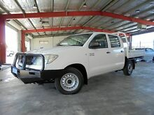2010 Toyota Hilux KUN16R MY10 SR TRAYBACK White 5 Speed Manual Dual Cab Welshpool Canning Area Preview