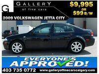 2009 Volkswagen Jetta CITY $99 bi-weekly APPLY NOW DRIVE NOW