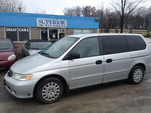 2002 Honda Odyssey LXFully. Certified and Etested!