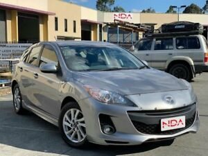 2013 Mazda 3 BL Maxx Sport Silver 6 Speed Manual Hatchback Burleigh Heads Gold Coast South Preview