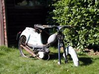 NSU Quickly Mopeds for sale - For restoration Reg 1959 to 1961