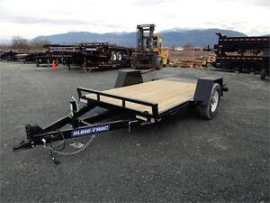 NEW 12' 7,000lb TILT HEAVY DUTY EQUIPMENT SCISSOR LIFT TRAILER