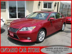 2014 Lexus ES 350 NAVIGATION LEATHER SUNROOF
