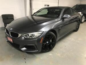 2014 BMW 435i xDrive|M PKG|NAV|CAM|SUNROOF|LEATHER|RED INTERIOR