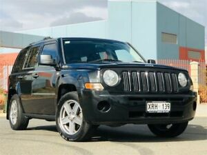 2008 Jeep Patriot MK MY2007 Limited Black 5 Speed Manual Wagon Mawson Lakes Salisbury Area Preview