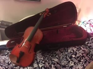 4/4 Full Size Violin + Bow + Case +Optional Giftwrap