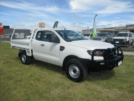 2015 Ford Ranger White Manual Cab Chassis Pakenham Cardinia Area Preview