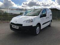 Peugeot Partner L1 850 1.6 92PS PROFESSIONAL EURO 5 DIESEL MANUAL WHITE (2014)
