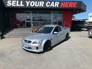 2008 Holden Ute VE SS V Utility Extended Cab 2dr Spts Auto 6sp 509kg 6.0i Silver Sports Automatic