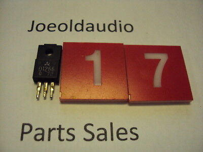 Transistor D1266. Pulled Part. Tested With Curve Tracer. Sold As Pictured.