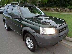 2001 Land Rover Freelander SE TD4 (4x4) Green 5 Speed Manual 4x4 Wagon Chermside Brisbane North East Preview