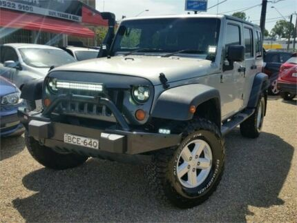 2007 Jeep Wrangler JK Unlimited Sport Silver 4 Speed Automatic Softtop Sylvania Sutherland Area Preview