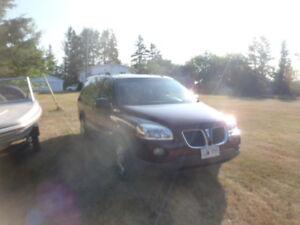 2008 Pontiac Montana Minivan, Extended Van