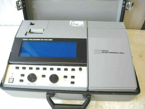 Frye Electronics Fonix FP40 Portable Hearing Aid Analyzer