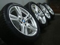 """Bmw Alloys 18"""" with continental winter tyres"""