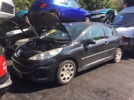 PEUGEOT 207 URBAN 2007 BREAKING FOR SPARES