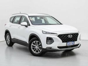 2019 Hyundai Santa Fe TM.2 MY20 Active MPI (2WD) White Cream 8 Speed Automatic Wagon Jandakot Cockburn Area Preview