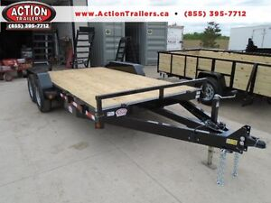 EQUIPMENT TRAILER - BUY DIRECT AND SAVE - 5 TON MODEL - 16' DECK London Ontario image 1