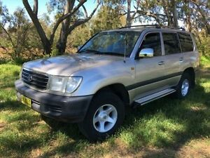 1999 Toyota Landcruiser FZJ105R GXL (4x4) Beige 4 Speed Automatic 4x4 Wagon Coonamble Coonamble Area Preview