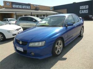 2004 Holden Commodore VZ SV6 Blue 5 Speed Auto Active Select Sedan Wangara Wanneroo Area Preview