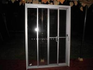 aluminium sliding door silver 1550w 2200h laminated glass Liverpool Liverpool Area Preview