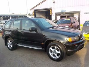 2002 BMW X5 E53 Steptronic Black 5 Speed Sports Automatic Wagon North St Marys Penrith Area Preview