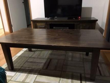Family Room Dark Wood Furniture - great condition