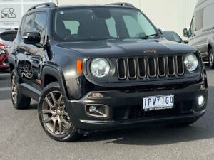 2017 Jeep Renegade BU MY17 Limited DDCT Black 6 Speed Sports Automatic Dual Clutch Hatchback Frankston Frankston Area Preview