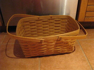 Longaberger Basket Picnic with Handles