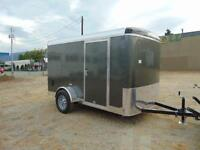 2016 Mirage 6X10 Cargo / Toy Hauler w. Ramp and Side Door (Loade