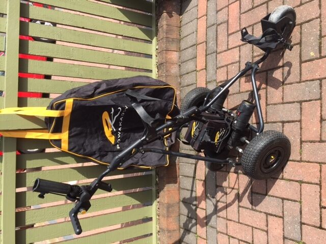 Powakaddy Remote Control Trolley + Carry Bag- Hardly used