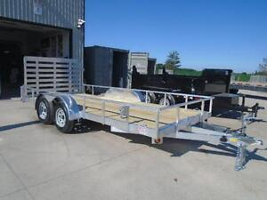 DIRECT PRICING - SAVE MONEY ON ALUMINUM LANDSCAPE TRAILER 16' London Ontario image 5