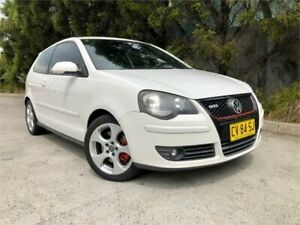 2008 Volkswagen Polo 9N MY08 Upgrade GTi White 5 Speed Manual Hatchback Strathfield Strathfield Area Preview