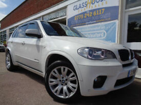 BMW X5 3.0TD auto 2010 xDrive30d M Sport S/H P/X (Reduced £15995.00)