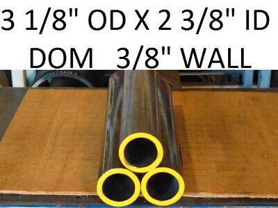 E0239a Dom Round Steel Tube 3.125 Od X  2.375 Id .375 Wall  6 Long