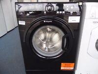 NEW GRADED BLACK HOTPOINT 9 KG 1400 SPIN WASHING MACHINE REF: 13313
