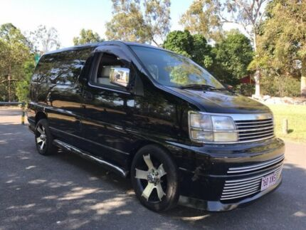 1999 Nissan Elgrand ALWE50 X Limited 4 Speed Automatic Wagon