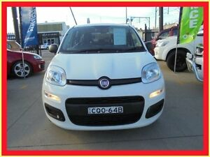 2013 Fiat Panda 150 POP White 5 Speed Manual Hatchback Holroyd Parramatta Area Preview