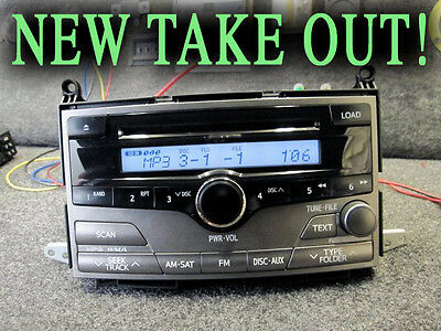 NEW TOYOTA VENZA 6 CD DISC MP3 CHANGER SAT RADIO 09 10 11 86120-0T020 A51870